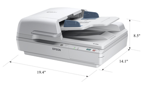 Epson WorkForce DS-6500 Flatbed Document Scanner with Duplex ADF