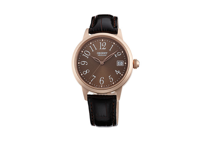 ORIENT: Mechanical Contemporary Watch, Leather Strap - 35.5mm (AC06001T)