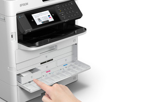 WorkForce Pro WF-C579R Workgroup Color MFP with Replaceable Ink Pack System