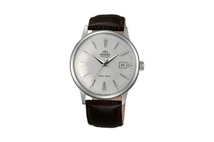 ORIENT: Mechanical Classic Watch, Leather Strap - 40.5mm (AC00005W)