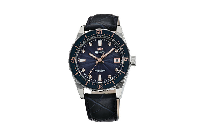 ORIENT: Mechanical Sports Watch, Leather Strap - 39.0mm (AC0A004D)