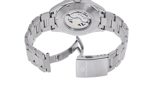 ORIENT STAR: Mechanical Contemporary Watch, Metal Strap - 42.0mm (RE-AU0403L)
