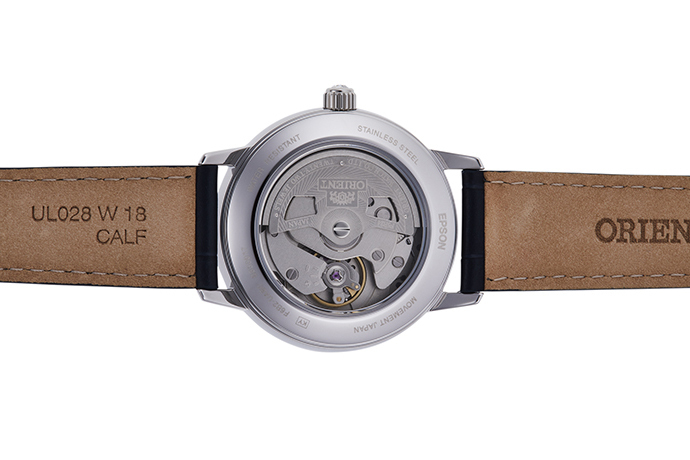 ORIENT: Mechanical Contemporary Watch, Leather Strap - 36.5mm (RA-AK0006L)