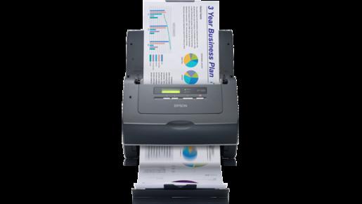 Scanner Colorido de Documentos WorkForce GT-S55