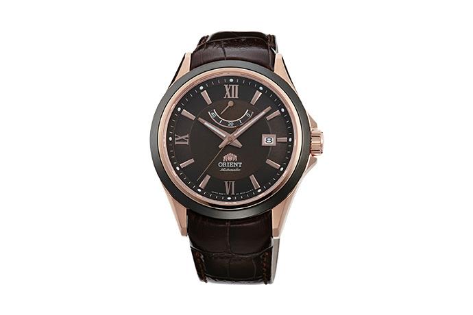 ORIENT: Mechanical Sporty Watch, Leather Strap - 42.0mm (AF03002T)