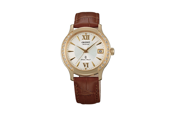 ORIENT: Mechanical Contemporary Watch, Leather Strap - 36.0mm (ER2E003W)