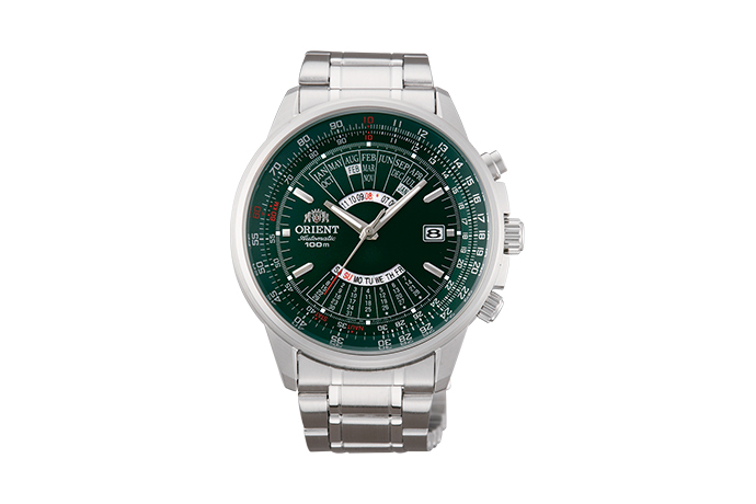 ORIENT: Mechanical Sports Watch, Metal Strap - 44.0mm (EU07007F)