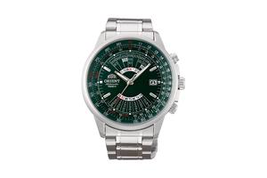 ORIENT: Mechanical Sports Watch, Metal Strap - 44.0mm (EU07007F)