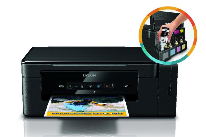 Impresora Epson Ecotank L395 110v Inyecci 243 N De Tinta