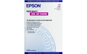 Epson Photo Quality Ink Jet Paper - A3 100 Sheets