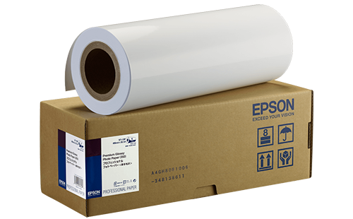Epson Premium Glossy Photo Paper - 44 in x 30m 1 Roll