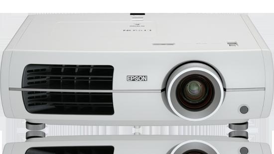 Elegant PowerLite Home Cinema 8350 1080p 3LCD Projector
