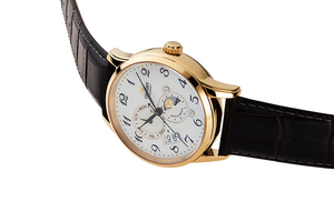 ORIENT: Mechanical Classic Watch, Leather Strap - 42.5mm (RA-AK0002S)