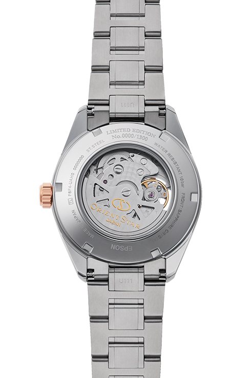 ORIENT STAR: Mechanical Contemporary Watch, Metal Strap - 41.0mm (RE-AV0116L) Limited