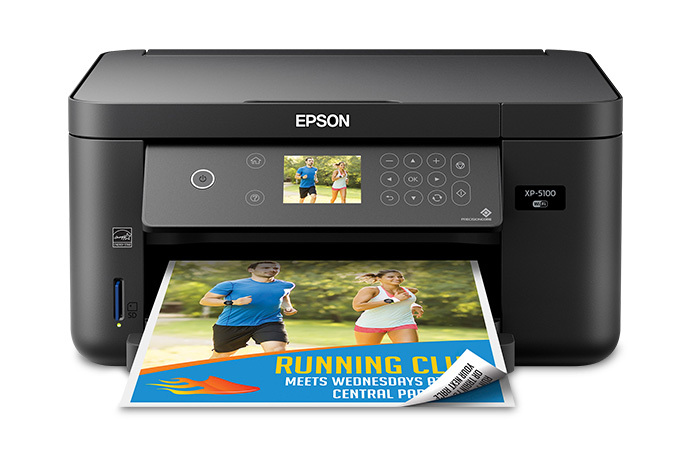 Expression Home Xp 5100 Small In One Printer Inkjet Printers