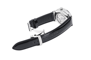 ORIENT STAR: Mechanical Classic Watch, Cordovan Strap - 41.0mm (RE-AY0111A) Limited