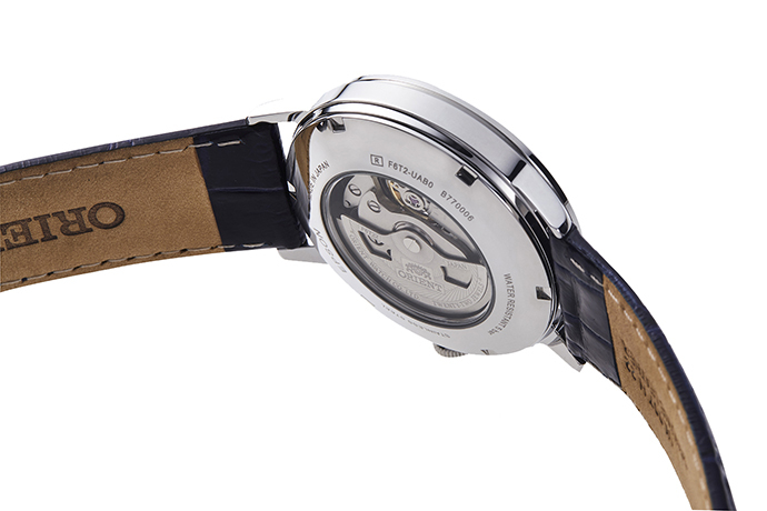 ORIENT: Mechanical Classic Watch, Leather Strap - 41mm (RA-AG0011L)