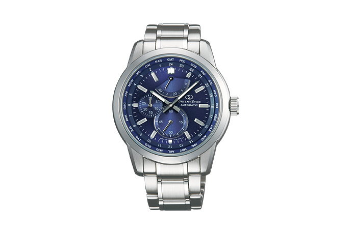 ORIENT STAR: Mechanical Contemporary Watch, Metal Strap - 41.5mm (JC00002D)
