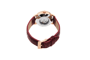 ORIENT: Mechanical Contemporary Watch, Leather Strap - 32.0mm (RA-NB0105S)