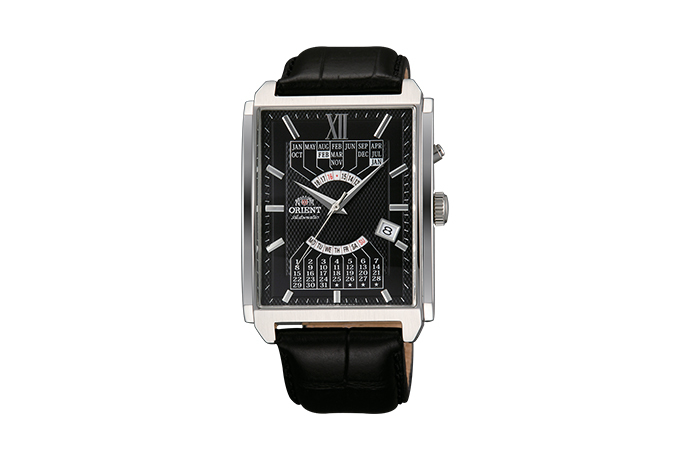 ORIENT: Mechanical Contemporary Watch, Leather Strap - 36.0mm (EUAG003B)