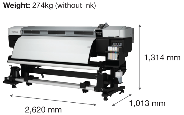 Epson SureColor SC-F7270 Dye-Sublimation Textile Printer
