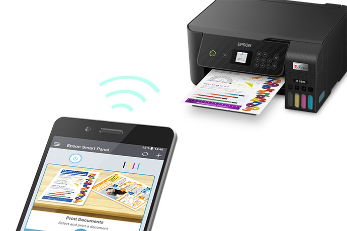 EcoTank ET-2800 Wireless Color All-in-One Cartridge-Free Supertank Printer with Scan and Copy