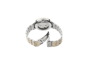 ORIENT: Mechanische Modern Uhr, Metall Band - 42.4mm (RA-AC0J07S)