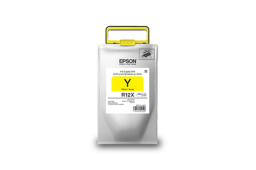 Epson R12X, Yellow Ink Pack, High Capacity