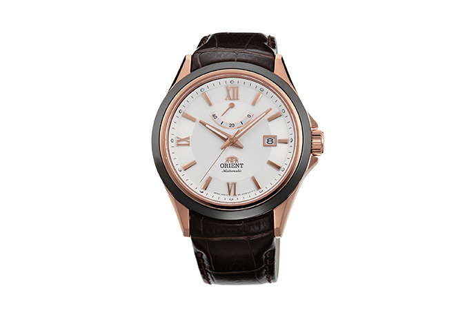 ORIENT: Mechanical Sports Watch, Leather Strap - 42.0mm (AF03002W)