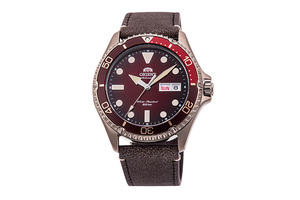 ORIENT: Mechanical Sports Watch, Leather Strap - 41.8mm (RA-AA0813R) Limited
