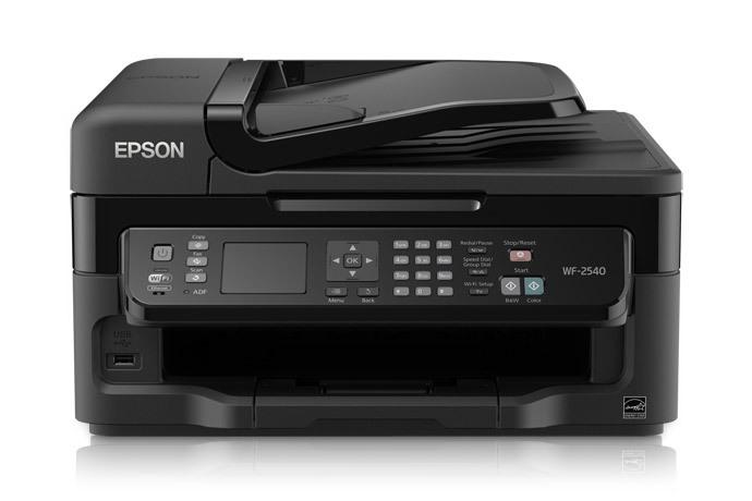 epson wf-2540 printer driver for mac