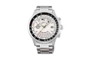 ORIENT: Mechanical Sports Watch, Metal Strap - 44.0mm (EU07005W)