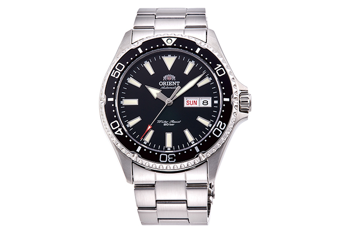 ORIENT: Mechanical Sports Watch, Metal Strap - 41.8mm (RA-AA0001B)