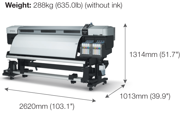 Epson SureColor SC-F9270 Dye-Sublimation Textile Production Printer