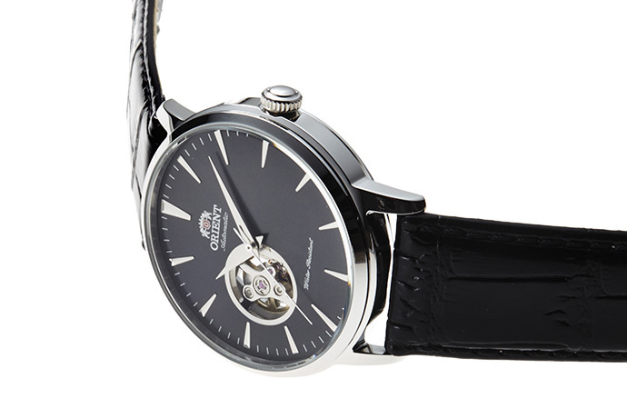 ORIENT: Mechanical Contemporary Watch, Leather Strap - 41.0mm (AG02004B)