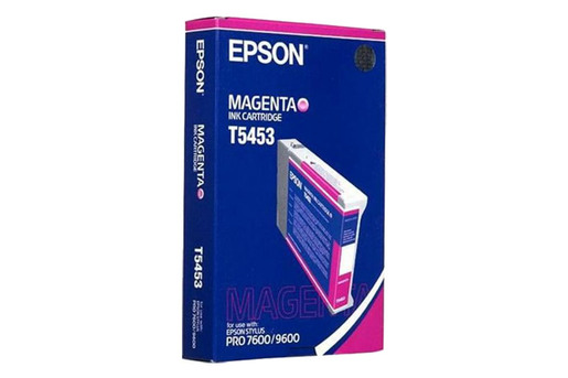 Epson T545, 110 ml Magenta Photographic Dye Ink Cartridge