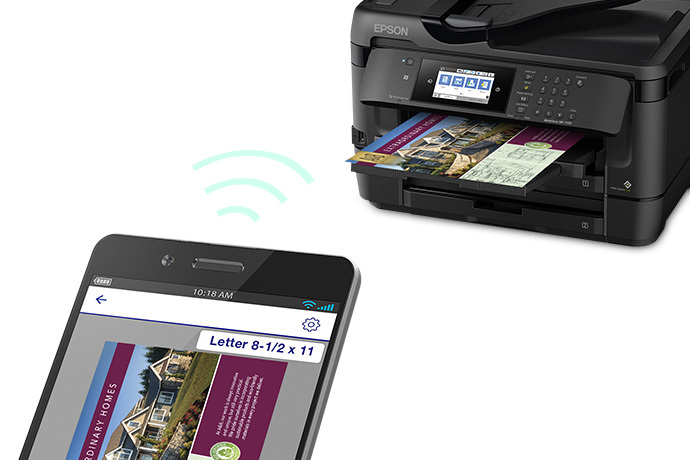 workforce wf 7720 wide format all in one printer inkjet printers rh epson com