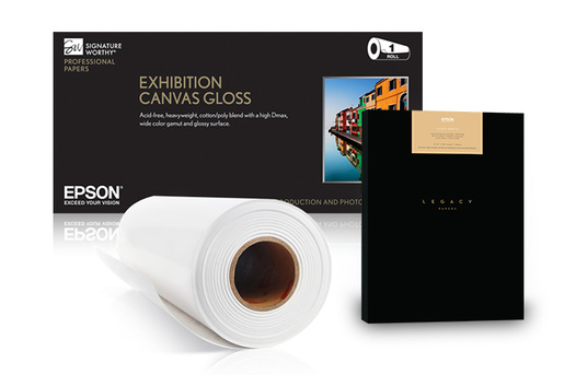 "Exhibition Canvas Natural Matte, 17"" x 22"", 50 sheets"