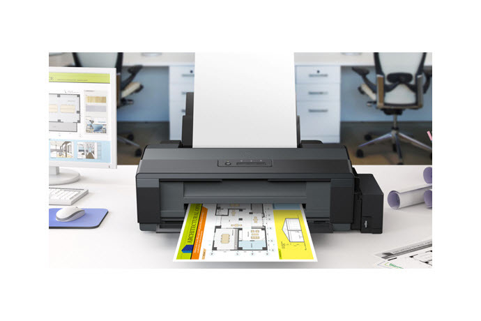 Epson L1300 A3 Ink Tank Printer Ink Tank System Printers Epson Indonesia