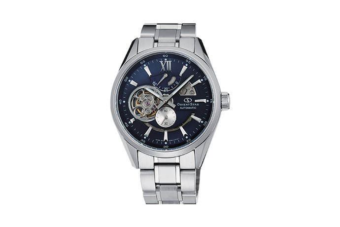 ORIENT STAR: Mechanical Contemporary Watch, Metal Strap - 41.0mm (DK05002D)