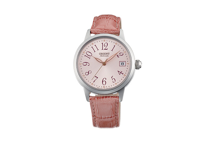 ORIENT: Mechanical Contemporary Watch, Leather Strap - 35.5mm (AC06004Z)