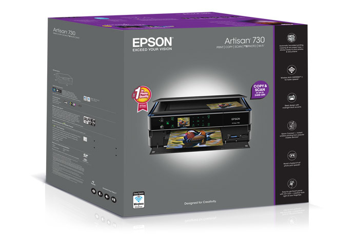 Epson Artisan 730 All-in-One Printer - Refurbished