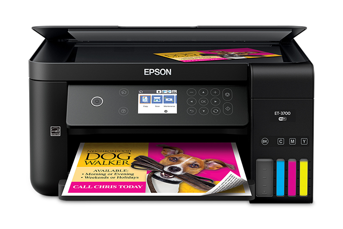 Ecotank Supertank Refillable Ink Printers Epson Us
