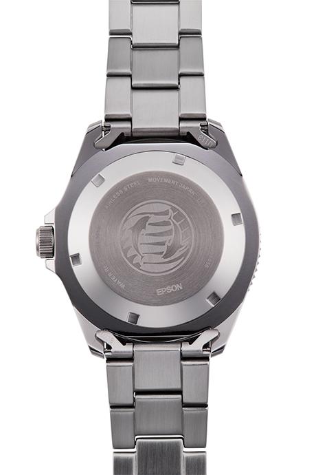 ORIENT: Mechanisch Sport Uhr, Metall Band - 41.5mm (AA02001B)