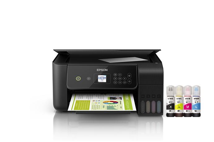 Impresora Multifuncional Inalámbrica EcoTank L3160