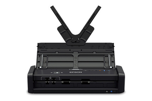 WorkForce ES-300W Wireless Portable Duplex Document Scanner with ADF - Refurbished