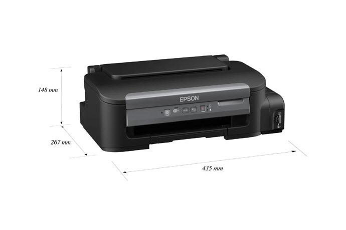 Ecotank M105 Wi Fi Single Function B Amp W Printer Ink Tank