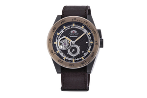 ORIENT: Mechanical Revival Watch, Leatherl Strap - 40.8mm (RA-AR0203Y)