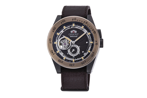 Mechanical Revival Watch, Leather Strap - 40.8mm (RA-AR0203Y)