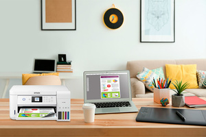 EcoTank ET-2760 All-in-One Cartridge-Free Supertank Printer